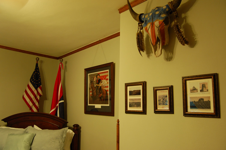 George A. Custer Room Sideview